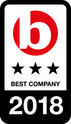 Best Company 2018 Award
