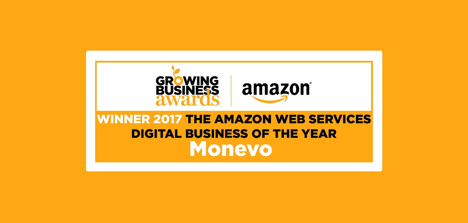 Monevo Hailed as Digital Business of the Year