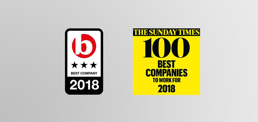 Quint Group one of the UK's Best Places to Work